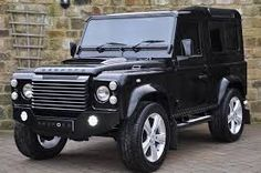 Land Rover Defender black #6