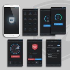 UI Design (Concept only) for mProtect.