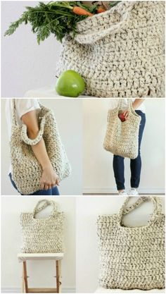 Crochet Diy You Will Adore These Crochet Tote Bag Best Free Patterns Crochet Diy, Crochet Tote, Crochet Handbags, Crochet Purses, Crochet Gifts, Ravelry Crochet, Bag Pattern Free, Tote Pattern, Crochet Purse Patterns
