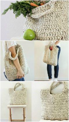 Crochet Diy You Will Adore These Crochet Tote Bag Best Free Patterns Crochet Diy, Crochet Beach Bags, Crochet Market Bag, Crochet Tote, Crochet Handbags, Crochet Purses, Crochet Gifts, Ravelry Crochet, Bag Pattern Free