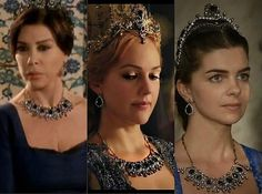 Magnificent Heritage - The blue Valide Sultan necklace