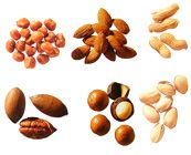 Nuts nutrition facts (Almonds)