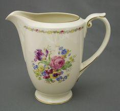 Vintage China, Retro Vintage, Kitchenware, Tableware, Milk Jug, Vintage Pottery, Porcelain Ceramics, Finland, Cupboard