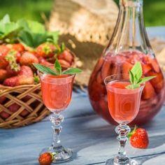 Liqueur de fraises à l'ancienne