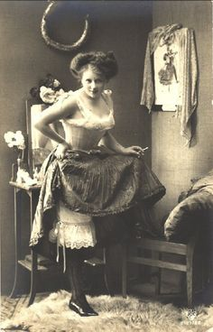 Victorian prostitute wears more clothes than Miley Cyrus and doesn't have to twerk to make her money. bahaha