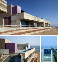 W Houses. Small complex of villas. Architects: Barclay & Crousse  Location: Cañete, Peru
