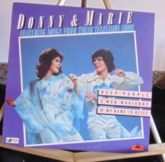 Donny & Marie Lp Featuring Songs From Their Television Shows Near Mint #1970s