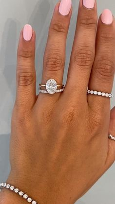 Celtic Wedding Rings, Wedding Rings Simple, Wedding Rings Vintage, Diamond Wedding Bands, Wedding Ring With Band, Oval Diamond Rings, Square Wedding Rings, Opal Wedding Ring Set, 2 Carat Diamond Ring