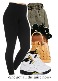 """""""#389"""" by chrissyworld14 ❤ liked on Polyvore featuring H&M, MCM and NIKE"""