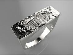 Likesyrup on Shapeways @Shapeways #jewlery #rings