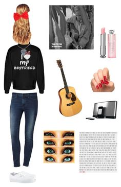 """""""Tom Felton Imagine #7 (Singing With Him)"""" by nerdbucket ❤ liked on Polyvore featuring Calvin Klein, Hershesons, Vans, Bose, women's clothing, women, female, woman, misses and juniors"""