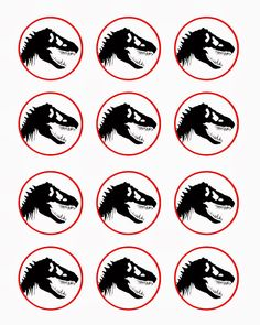 Bringing Home Ezra: Free dinosaur (Jurrasic Park) party printables
