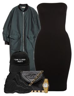 """I came to break hearts..."" by cheerstostyle ❤ liked on Polyvore featuring H&M, Wolford, Chanel, Bulova, NIKE and Maison Margiela"