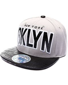 Find Brooklyn Hometown Croc Embossed Visor Snapback Hat Men s Hats from  Buyers Picks   more at DrJays. on Drjays.com 8b3d8b8a5c3