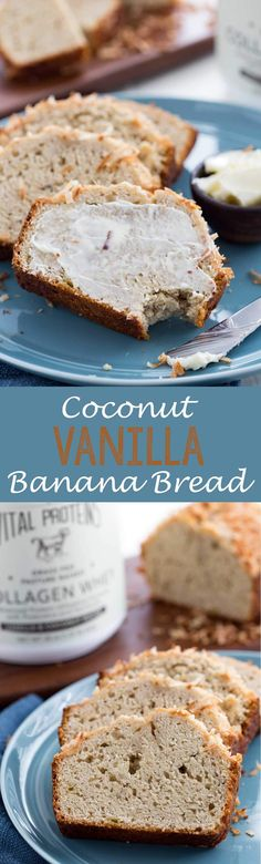 Coconut Vanilla Banana Bread