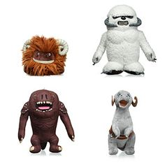ThinkGeek :: Star Wars Creature Plush-I mostly want the Tauntaun, but the Rancor is also appealing