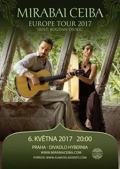 Mirabai Ceiba - hudební událost jara v Praze již v květnu