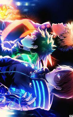 Boku No Hero Academia Funny, My Hero Academia Shouto, My Hero Academia Episodes, Hero Academia Characters, Boku No Academia, Cool Anime Wallpapers, Anime Wallpaper Live, Hero Wallpaper, Animes Wallpapers