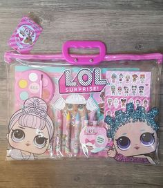 LOT 50 PCS LOL Surprise Dolls Sticker Sheets Unicorn Luxe Splash Queen