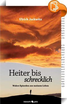 """Heiter bis schrecklich    ::  Ulrich Jackwitz gibt mit einem großen Augenzwinkern die verschiedensten Episoden aus seinem Leben chronologisch sortiert wieder, beginnend mit der Kindheit. Es folgen Eindrücke aus der Kriegs- und Nachkriegszeit, dabei geht es um Lebenserhaltendes wie das Schachern auf dem Schwarzmarkt und auch die kleinen Freuden des Lebens, wie den Stolz beim Erwerb seiner ersten Coca Cola. Als Heranwachsender leistet er sich einige """"Köpenickiaden"""", die er lebhaft schild..."""