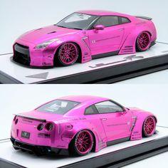 #Unusual43 #1/18th #Make Up #Liberty Walk #LB Works #R35 GTR #Duck Tail #Flash Pink #Unusual43 Exclusive #Frontiart #Autoart #Kyosho #Minichamps #Amalgam #Lamborghini #Ferrari #Porsche #Bugatti #Pagani #Mclaren #Mercedes #BMW #Audi #Koenigsegg