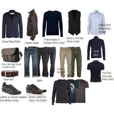 wardrobe capsule professional | Capsule Wardrobe - Men