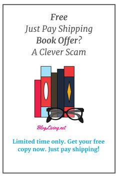 """Internet marketers use the """"free just pay shipping book offer"""" scam to sell added products and inflate book sales numbers. Internet Marketing, Numbers, Clever, Books, Free, Things To Sell, Products, Libros, Book"""