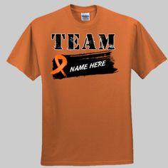 Team Leukemia Shirts Personalize It With a Name by leukemiashirts.com