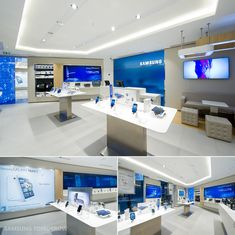 First Samsung Mobile Store - Paris, France