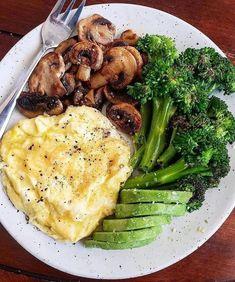Healthy Meal Prep, Healthy Snacks, Healthy Eating, Healthy Recipes, Keto Recipes, Dinner Healthy, Protein Recipes, Vegan Protein, Ketogenic Recipes