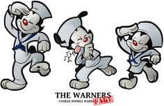 1934 - The Warners by BoscoloAndrea on DeviantArt #warners #animaniacs #merriemelodies #looneytunes #looney