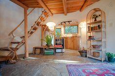 Unique Cob Cottage - Interior
