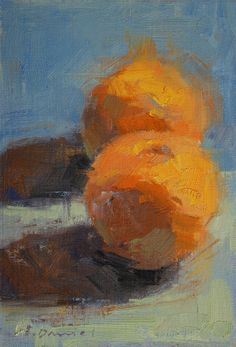 Oranges. / Impressionnist. / By Quang Ho, 1963.