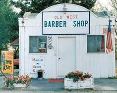 Old West Barber Shop