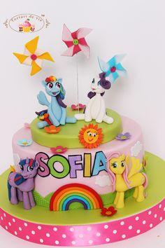 Torturi - Viorica's cakes: Tort Little Pony pentru Sofia