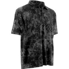 Huk Men's Kryptek Icon Polo Shirt, Size: Medium, Black