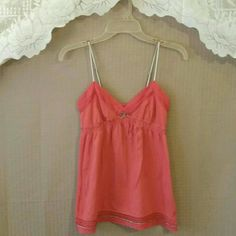 Coral top Preloved / in excellent condition American Eagle Outfitters Tops Camisoles