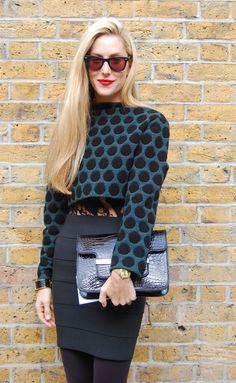 Joanna Hillman - Style Sightings