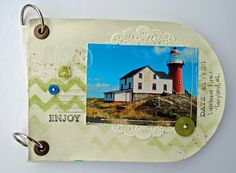 THE CANVAS ALBUM by Cathy Caines  @Stampin' Up!