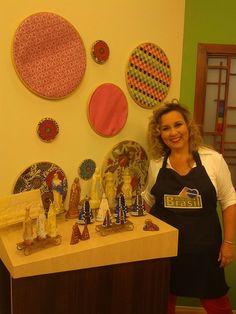 Santas no Programa Arte Brasil.