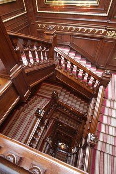 Beautiful Mahogany Staircase