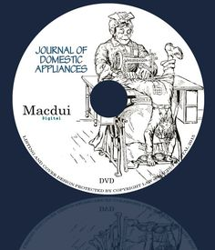 Journal of Domestic Appliances Vintage E-books by MacduiDigital Domestic Appliances, Old Magazines, Cover Design, Ebooks, Collections, Journal, Personalized Items, Handmade Gifts, Etsy