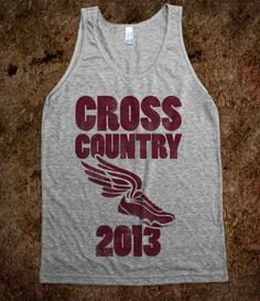 Cross Country 2013 (tank) - Sports - Skreened T-shirts, Organic Shirts, Hoodies, Kids Tees, Baby One-Pieces and Tote Bags Custom T-Shirts, Organic Shirts, Hoodies, Novelty Gifts, Kids Apparel, Baby One-Pieces | Skreened - Ethical Custom Apparel