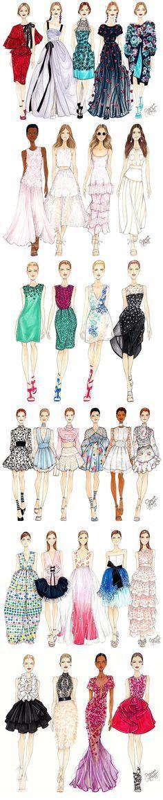 Fashion Month Recap Part 1… | Joanna Baker : Fashion & Lifestyle Illustrations
