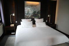 Déco chambre : hôtel Hameaux Albert 1er // http://www.deco.fr/photo-deco/decoration-hotel-hameaux-albert-1er-chamonix-003-3687206.html