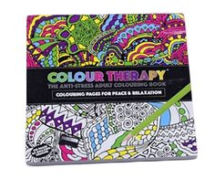 Paper 120 Pages Color Book by Colour Therapy