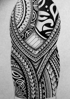 Tatto Ideas 2017 I created a Polynesian half sleeve tattoo design for my brother displaying many African Tribal Tattoos, Native Tattoos, Tribal Tattoos For Men, Tribal Sleeve Tattoos, Arm Tattoos For Guys, Tattoos For Women Small, Small Tattoos, Mauri Tattoo Designs, Tribal Tattoo Designs