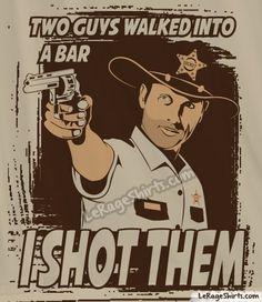 The Walking Dead T-Shirt | Rick Grimes Tee Shirts