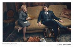 Michael Phelps sports his speedo and a relaxing pose for one of new print ad campaigns for Louis Vuitton. He looks just as good in the secon...