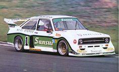 Leif Nilsson, 1978, Ford Escort.